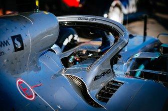 Le Halo de la Mercedes AMG F1 W10