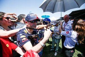 Felipe Massa, Venturi Formula E firma autógrafos