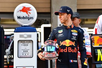Pierre Gasly, Red Bull Racing with Mobil for 1000th race