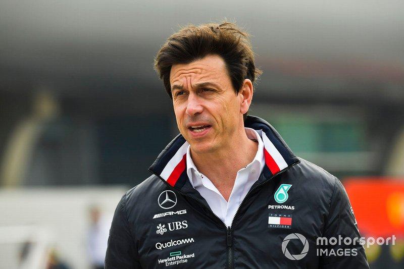 Toto Wolff, Direttore Esecutivo, Mercedes AMG