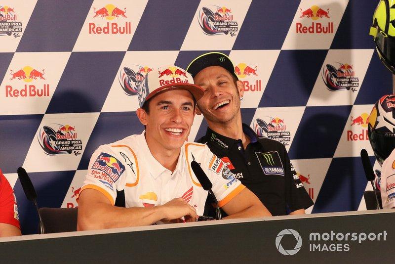 Marc Marquez, Repsol Honda Team, Valentino Rossi, Yamaha Factory Racing, rueda de prensa