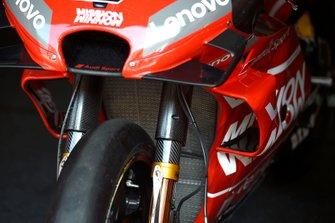 Une fourche de Ducati