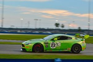 #22 TA4 Aston Martin driven by Steven Davison of Automatic Motorsports