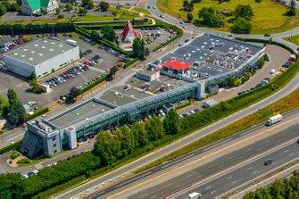 Vista aérea de la fábrica de Renault en Viry-Châtillon