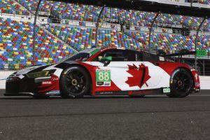 #88 WRT Speedstar Audi Sport: Frederic Vervisch, Kelvin van der Linde, Ian James, Roman DeAngelis
