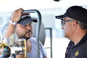 Lino Fayen and Anselmo Gonzalez of Formula Motorsport