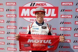 Motul Pole Award winner #52 PR1 Mathiasen Motorsports ORECA LMP2, LMP2: Matthew McMurry