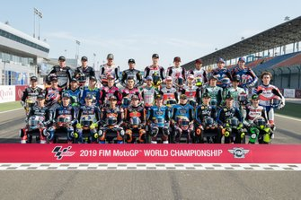 Moto2 rider lineup