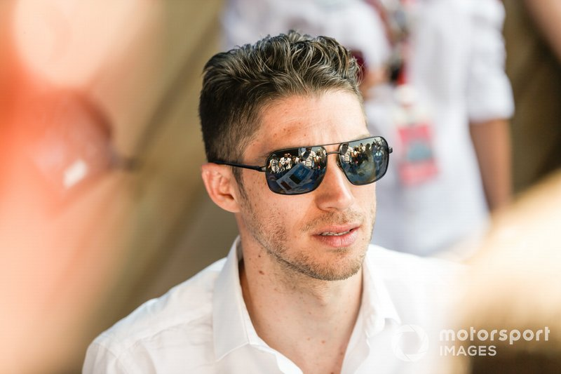 Edoardo Mortara Venturi Formula E at the autograph session