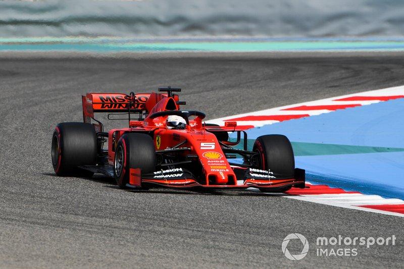 5. Себастьян Феттель, Ferrari — 22