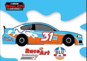 Livrea Race Art Technoloy-Blu Motorsport per la NASCAR Euro