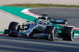 Lewis Hamilton, Mercedes-AMG F1 W10 EQ Power+
