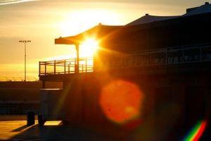 Sonnenuntergang am Las Vegas Motor Speedway