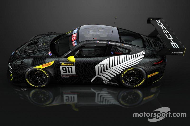Earl Bamber Motorsport renk düzeni