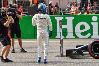 Pole man Valtteri Bottas, Mercedes AMG F1,