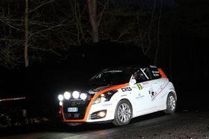 Daniele Campanaro, Irene Porcu, Suzuki Swift R1 #59, Jolly Racing Team