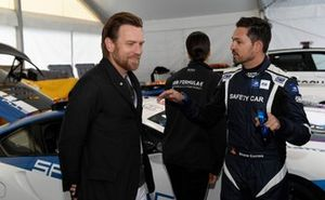 Actor Ewan McGregor with Bruno Correia