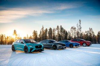 Jaguars car line-up
