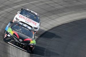 Daniel Suarez, Gaunt Brothers Racing, Toyota Camry CommScope, Corey LaJoie, Go FAS Racing, Ford Mustang Drydene