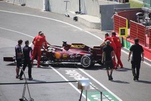 Ferrari SF1000 in the pitlane