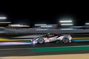 #54 AF Corse - Ferrari 488 GTE EVO: Thomas Flohr, Francesco Castellacci, Giancarlo Fisichella