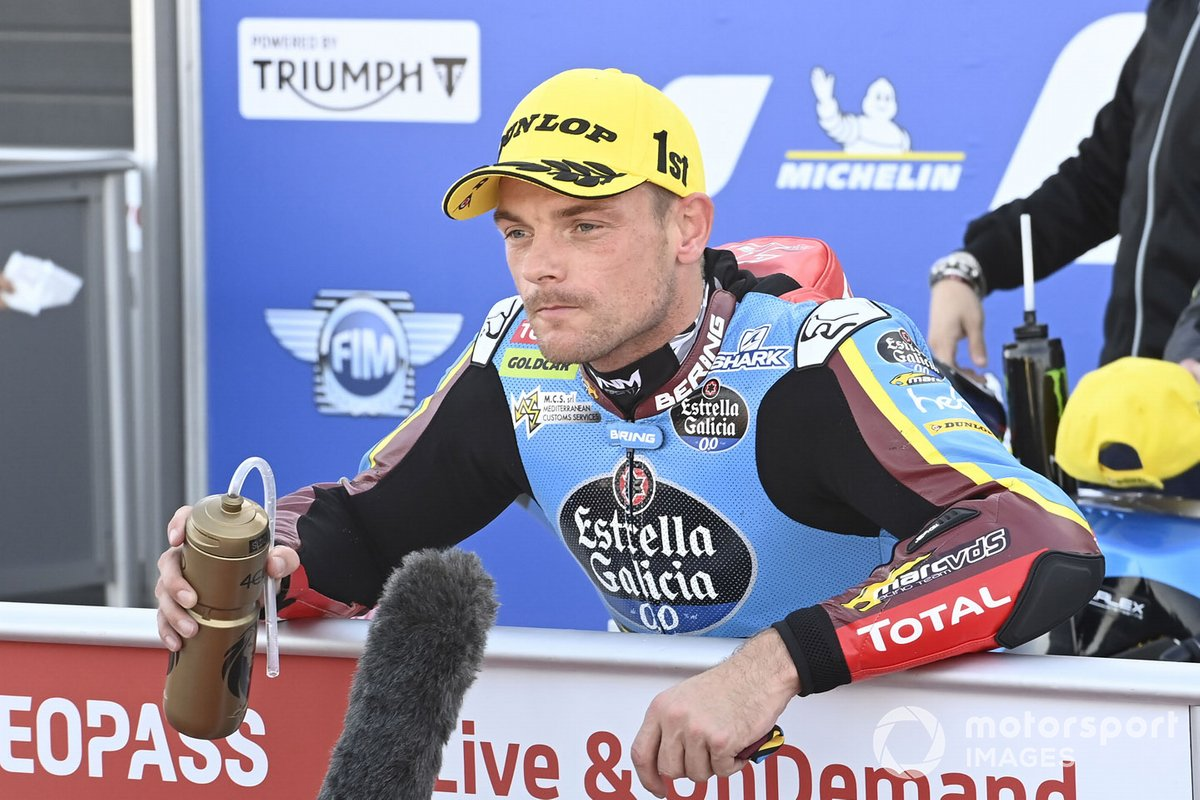 Ganador de la pole Sam Lowes, Marc VDS Racing