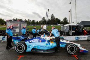 Graham Rahal, Rahal Letterman Lanigan Racing Honda, crew