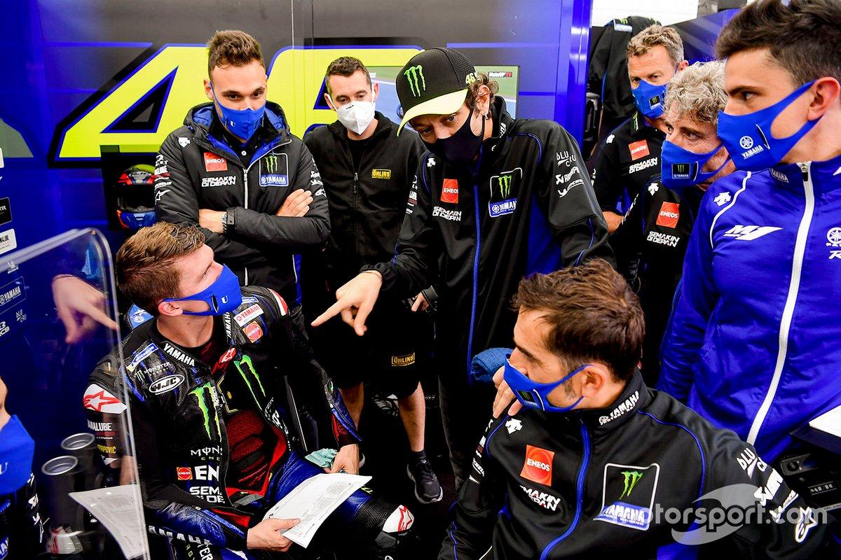 Garrett Gerloff y Valentino Rossi, Yamaha Factory Racing