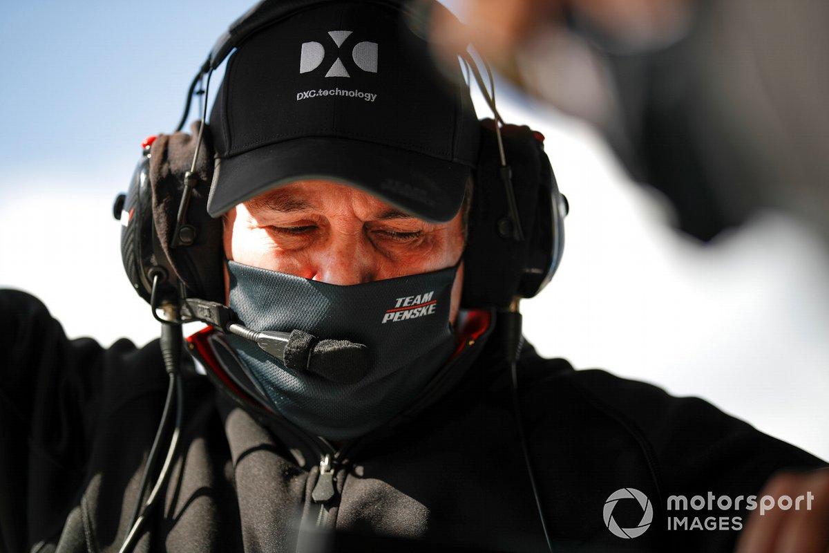 Simon Pagenaud, Team Penske Chevrolet, miembros del equipo