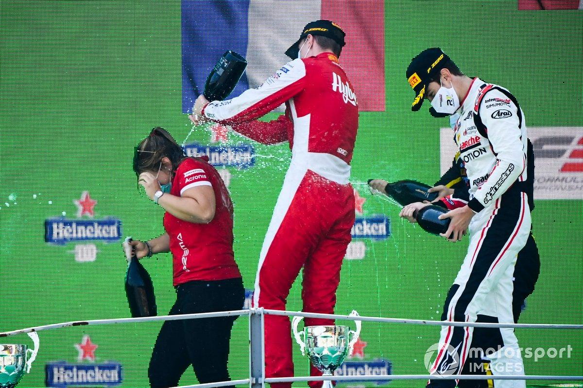 Frederik Vesti, Prema Racing y Theo Pourchaire, ART Grand Prix