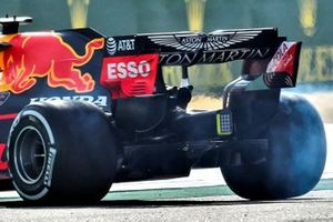 Diffuseur de la Red Bull Racing RB16