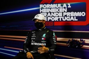 Valtteri Bottas, Mercedes-AMG F1, in the post Qualifying Press Conference
