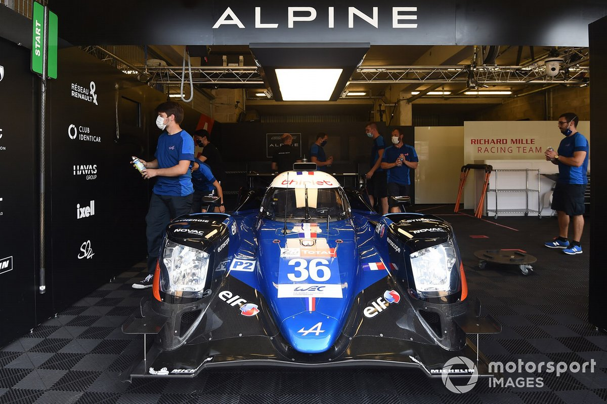 #36 Signatech Alpine Matmut Alpine A470