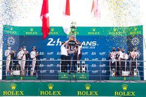 LMP1 Podium, 24 Heures du Mans, Circuit des 24 Heures ,Le Mans ,Pays da la Loire, France