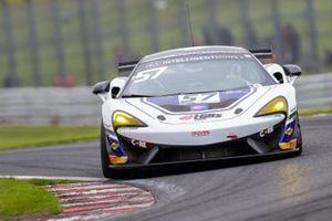 #57 HHC Motorsport McLaren 570S GT4: Chris Wesemaael, Gus Bowers