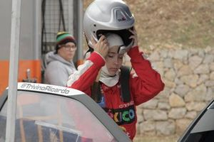 Laura Salvo, copiloto de rallies