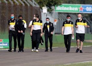 Fernando Alonso con el equipo Renault