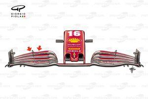 Ferrari SF1000 front wing Emilia-Romagna GP