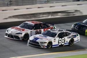 Chase Briscoe, Stewart-Haas Racing, Ford Mustang Ford Performance Racing School, Harrison Burton, Joe Gibbs Racing, Toyota Supra DEX Imaging