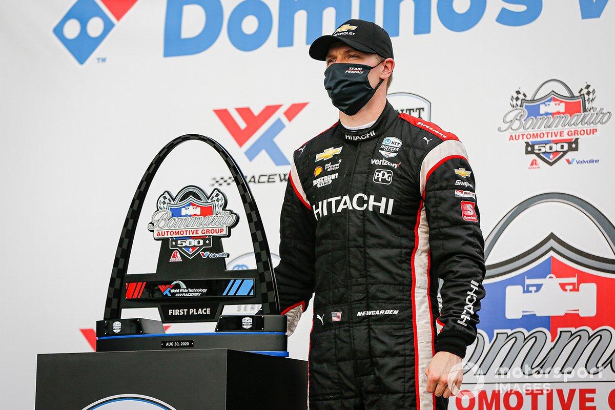 Ganador carrera 2: Josef Newgarden, Team Penske Chevrolet