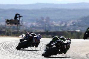 Garrett Gerloff, GRT Yamaha WorldSBK Junior Team Maximilian Scheib, ORELAC Racing Verdnatura