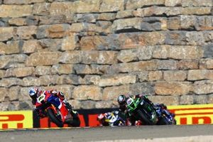 Alvaro Bautista, Team HRC, Alex Lowes, Kawasaki Racing Team