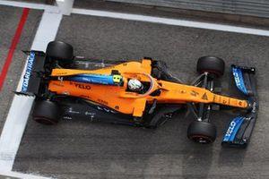 Lando Norris, McLaren MCL35