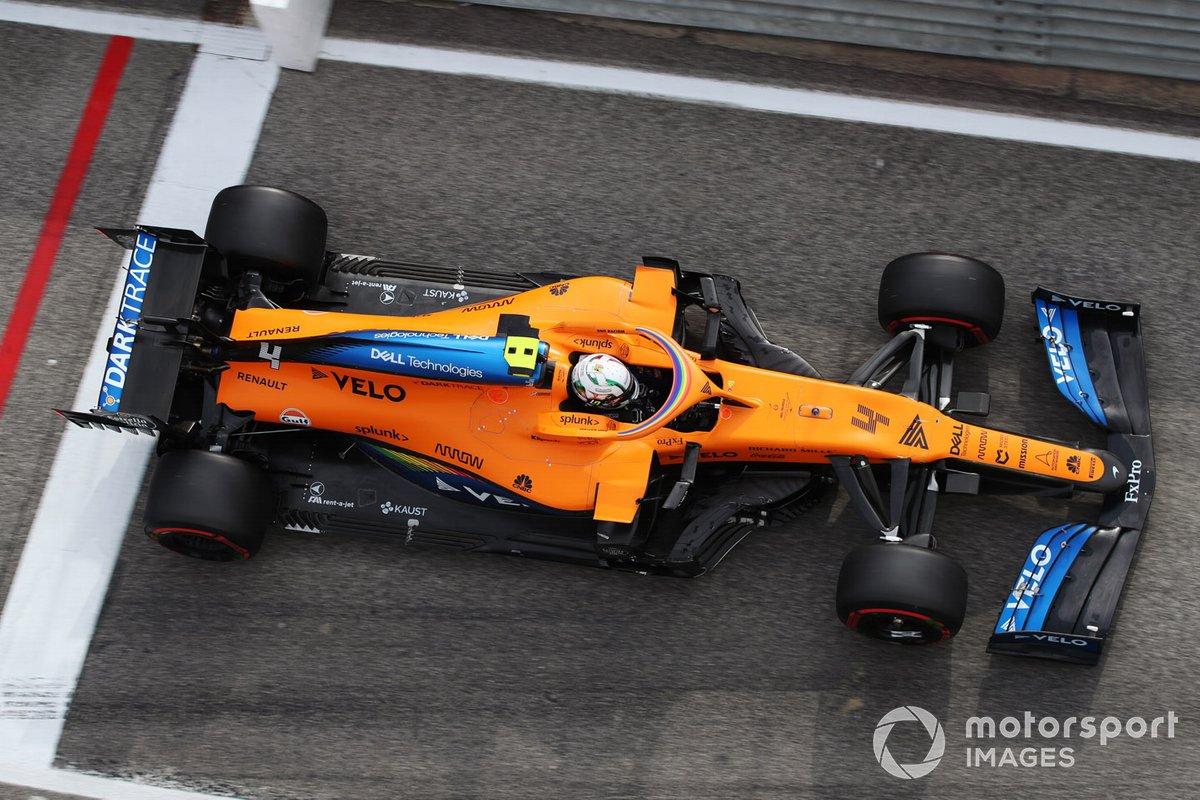 Lando Norris, McLaren MCL35 - 1.500.000 dólares