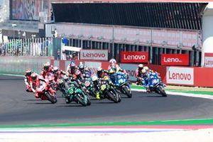 Franco Morbidelli, Petronas Yamaha SRT leads