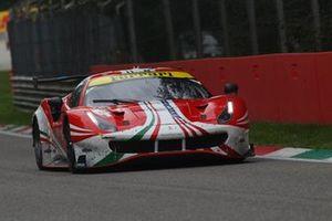 #61 AF Corse - Ferrari 488 GTE EVO: Christoph Ulrich, Simon Mann, Toni Vilander