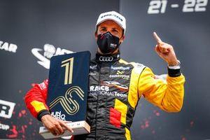 Podio: Ganador de la carrera Gilles Magnus, Comtoyou Team Audi Sport Audi RS 3 LMS