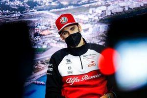 Antonio Giovinazzi, Alfa Romeo Racing in the Press Conference