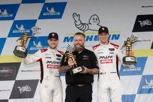 1. GTD: #9 Pfaff Motorsports Porsche 911 GT3R, GTD: Zacharie Robichon, Laurens Vanthoor