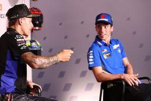 Fabio Quartararo, Yamaha Factory Racing , Joan Mir, Team Suzuki MotoGP